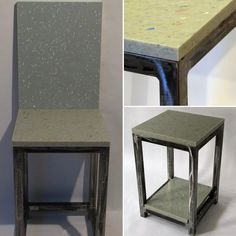 PK Steel recently uses 100% recycled plastic panels to make furniture that is both stylish and durable.