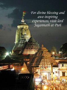 For divine blessing and awe-inspiring experiences, visit lord #Jagannath at #Puri. #SwostiGroup, #Bhubaneswar, #Orissa