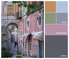 Color palette from photo byIrene Turner  with warm accents