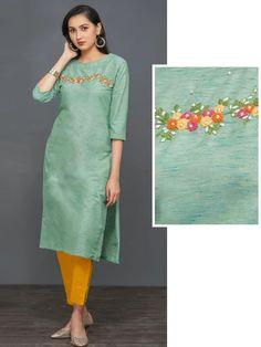 Neckline Designs, Dress Neck Designs, Stylish Dress Designs, Designs For Dresses, Blouse Designs, Stylish Dresses, Fashion Dresses, Simple Kurta Designs, New Kurti Designs