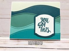 Rainbow Card, Homemade Greeting Cards, Card Tutorials, Card Sketches, Masculine Cards, Cool Cards, Creative Cards, Stampin Up Cards, Cardmaking