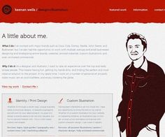 40 Groovy Examples of About Me Page Designs   inspirationfeed.com