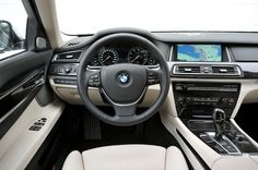 The BMW 7 Series Sedan is an experience for all the senses: the interior inspires with a generous feeling of spaciousness, exclusive quality and first-class functionality.  #BMW #cars #luxury #high