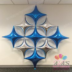 Starpoint foil balloon wall panel #partywithballoons