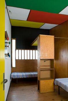 Colour Architecture, Interior Architecture, Tiny Spaces, Small Rooms, Interior Decorating, Interior Design, Camping, Modern Design, House Design