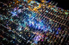 La superbe sérieNight Over New York du photographe américain Vincent Laforet, qui a réalisé des images magnifiques de la ville de New York vue du ciel, ca