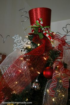 Magical Scandinavian Christmas Tree + DIY Ornaments