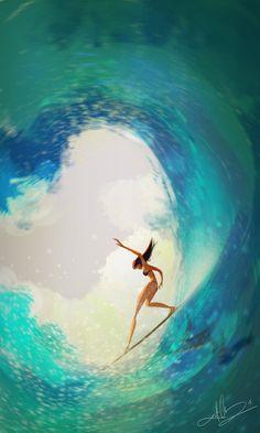 Beach Illustration, Landscape Illustration, Graphic Illustration, Surf Drawing, Really Cool Drawings, Digital Portrait, Digital Art, Vw T1, Beach Print