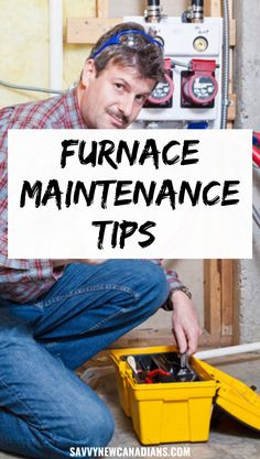 Here are eight tasks you need to have on your furnace maintenance checklist to ensure your furnace does not disappoint this winter. #furnacemaintenance #savemoney #DIY #furnacetips #cutexpenses #saveutilitybill #homemaintenance