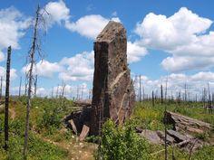 Magnetic Rock on Minnesota's Gunflint Trail
