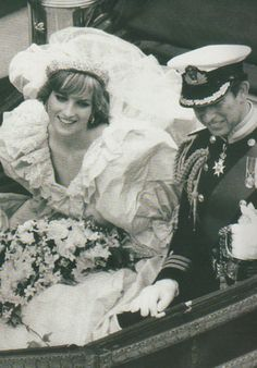Princess Diana July Lady Diana Spencer marries Prince Charles at St. Paul's Cathedral in London.