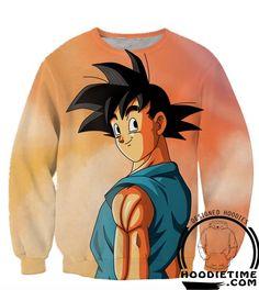 Dragon Ball GT Z - Goku Goodbye my Friends Hoodie - 3D Pullover Hoodie