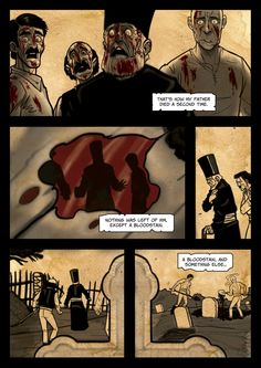 It's a Vampire!!! (page 13) by Gocce & Sejver #vampire #horror #comics #fantasy