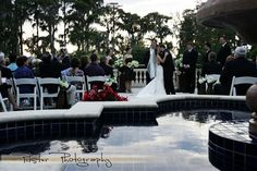 Outside the Ballroom: Isleworth Golf & Country Club
