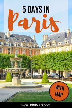 Looking for the best Paris Itinerary 5 days? Check out the perfect 5 days in Paris - Itinerary & Map, with the best places to visit in Paris in 5 days. Paris Travel Guide, Europe Travel Tips, European Travel, Travel Guides, Travel Goals, Travel Advice, Asia Travel, Cities In Europe, Europe Destinations