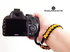 Our camera wrist straps are both comfortable and practical - large range of colours Paracord Camera Strap, Camera Wrist Strap, Paracord Knife, Range, Colours, Cookers