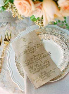 Blogger Bride Series: Custom Paper Goods & Invitations
