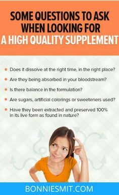 Shopping for a high quality supplement can be confusing.  They all say that they are the best.  Which is why I have found this free downloadable checklist so helpful!