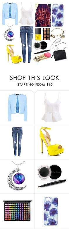 """Cute Lunch Date"" by redheadmahomiemidnightredaustin ❤ liked on Polyvore featuring Jaeger, H&M, ALDO, Mary Kay, L'Oréal Paris, 3.1 Phillip Lim, Jigsaw and Alex and Ani"