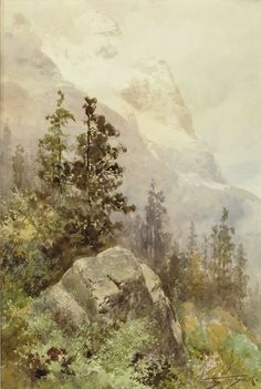 Canadian painters used their medium to unify the vast nation by creating an identity based on the overwhelming influence of their natural surroundings.