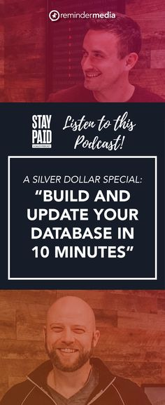 In this episode of the Stay Paid podcast, Luke and Josh make it super easy to get your database up and running. They tell you who to put into it, what to put into it, and how to segment it to derive the most value from it.  contact database tips - realtor real estate agent - crm tips organize - client mailing list - relationship marketing ideas Social Media Marketing Business, Business Sales, Sales And Marketing, Business Tips, Marketing Ideas, Cold Calling Tips, Relationship Marketing, Social Media Engagement, How To Become