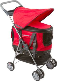 Red Pet Stroller, Carrier and Car Seat All-in-One Discount Ramps http://www.amazon.com/dp/B004JVXPBM/ref=cm_sw_r_pi_dp_JmeXub115ZS13