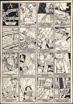 Rick Geary -- A Gentleman's Occupation, in RogerK.'s Geary, Rick Comic Art Gallery Room