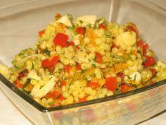 Cuşcuş cu peşte afumat Veggies, Mexican, Ethnic Recipes, Food, Cooking, Salads, Vegetable Recipes, Meals, Yemek