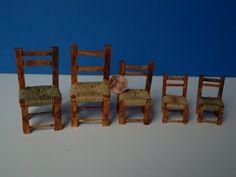 TUTORIAL: come costruire le sedie per un presepe - YouTube
