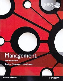Management Thirteenth Edition Global Edition, Stephen P. Robbins