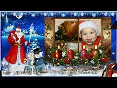 Herzliche Grüße und einen schönen 4.Advent…#2 - YouTube Merry Christmas, Christmas Ornaments, Youtube, Holiday Decor, Frame, Painting, Songs, Art, Christmas Decorations