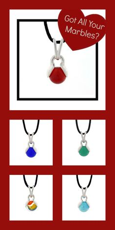 Need a necklace for all summer outfits?   Got All You Marbles Pop Pendant! 8 Necklaces in one, only $39