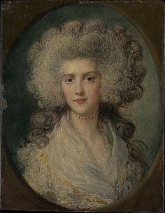 Mrs. John Puget (Catherine Hawkins)  Attributed to Richard Gainsborough Dupont (British, Sudbury 1789–1874 Sudbury)