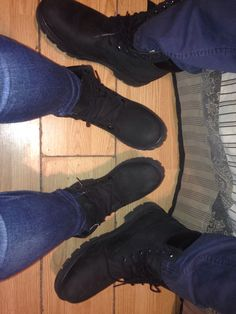 His and hers Timberlands!
