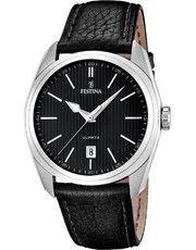 FESTINA Klasik 16777/4 Omega Watch, Smart Watch, Watches, Leather, Accessories, Black Leather, Bracelet Watch, Smartwatch, Wristwatches