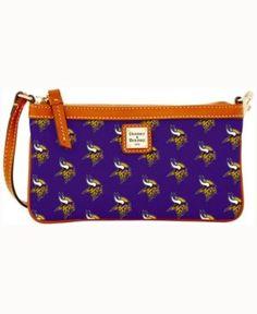 Dooney & Bourke Minnesota Vikings Large Wristlet - Purple