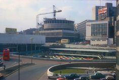Bull Ring & Rotunda Redevelopment - View from Multi-Storey Carpark. Birmingham City Centre, Birmingham Uk, World Famous, Burj Khalifa, Journey, History, Architecture, Building, Amp