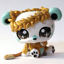 "Mythical Panda ""Luces"" (Piaslittlecustoms OC) Littlest Pet Shop LPS custom"