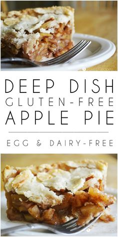 There's no wrong time of year to treat yourself to this egg and dairy-free Deep Dish Gluten-Free Apple Pie! Being naturally sweetened also makes it practically healthy!