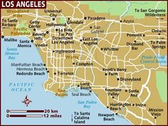 LA, Hollywood, Disneyland, Beverly Hills, Universal Studios...California