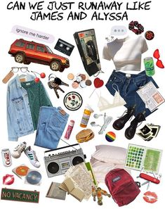 can we just runaway like james and alyssa Grunge Fashion, 90s Fashion, Fashion Outfits, Vintage Outfits, Vintage Fashion, Mode Inspiration, Aesthetic Clothes, School Outfits, Vogue