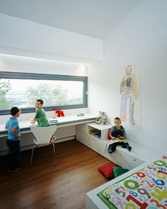 Big window for natural light is a must have for baby/kid's room