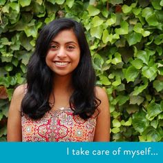 """""""I take care of myself by getting away from my sources of stress and by remembering to take time off to do the things I love. It's all about giving myself a little break to stay creative and inspired."""" #creative #inspiration #creativity #healthy #health #space #breaks #stress #relief #live #selfcare #life #selflove"""