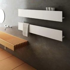 Die 30 besten Bilder von Heizkörper badezimmer modern | Bath room ...