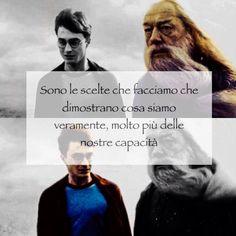 Albus Dumbledore and Harry Potter in The Half Blood Prince