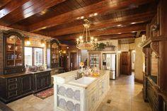 Amazing Antique Kitchen Furniture with Antique Kitchen Tables and Antique Kitchen Cabinets : Cool Antique Kitchen Furniture With Wood Ceiling Kitchen Ideas White Wastafel Cabinet For Hoosier Cabinet And Antique Kitchen Hutch
