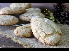 Cómo hacer perrunillas extremeñas | RECETA TRADICIONAL NAVIDEÑA - YouTube Mantecaditos, Plum Cake, Pretty Good, Wonderful Things, Spanich, Biscuits, I Am Awesome, Cier, Lose Weight