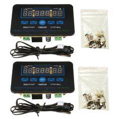 12V/220V 10A Digital LED Temperature Controller Thermostat Control Switch Sensor + Probe