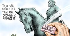 Political Cartoon: To The Dust Bin Of Hysteria - BB4SP