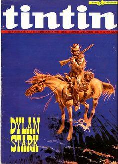 Le Journal de Tintin - Edition Belge - N°  1283 - 1971-16 - Mardi 20 Avril 1971 - Couverture : Hermann Huppen